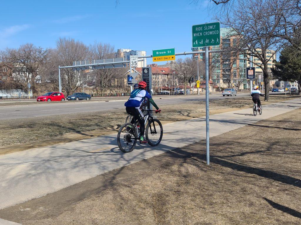 Warm Week Ahead - Madison Bikes